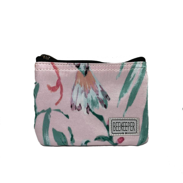 Pastel Pink Coin Purse - Everyday Vegan Grocer