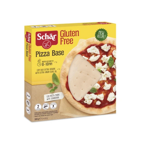 Dr. Schar - Gluten Free Pizza Base - 2x150g - Everyday Vegan Grocer