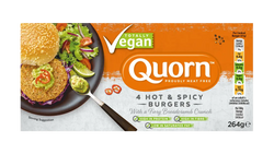 Quorn Vegan Hot & Spicy Burger Patty 4's 264g