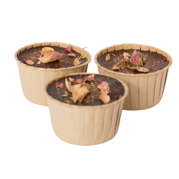 RÒA Cakes - Box of 3 Midnight Classique Cupcakes - Everyday Vegan Grocer