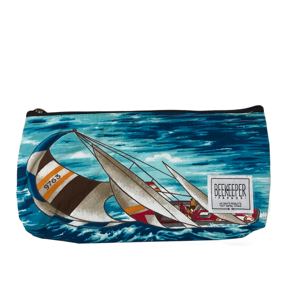 Sailing Boat Pouch - Large - Everyday Vegan Grocer