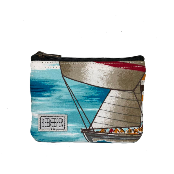 Sailing Boat Coin Purse - Everyday Vegan Grocer