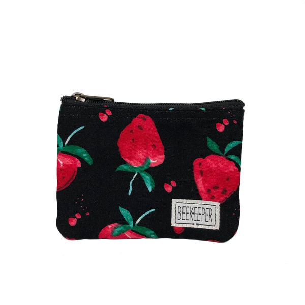 Strawberry Coin Purse - Everyday Vegan Grocer