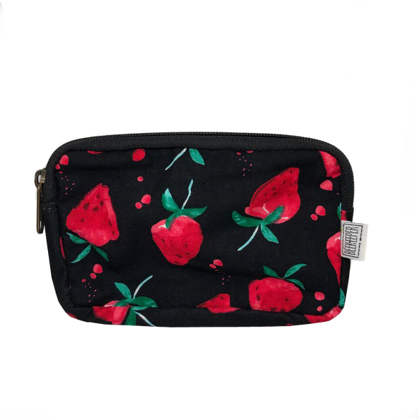 Strawberry Passport plus Phone Pouch - Everyday Vegan Grocer