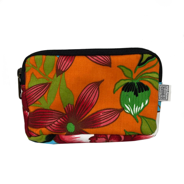 Summer Flower Passport plus Phone Pouch - Everyday Vegan Grocer