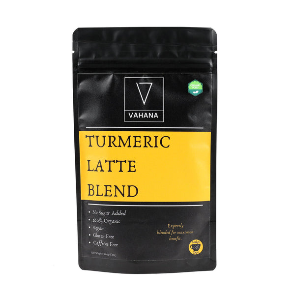 Vahana - Turmeric Latte Blend - Everyday Vegan Grocer