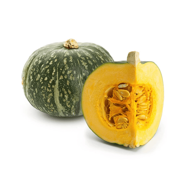 Heirloom & Chemical Free - Pumpkin, Kabocha, 30 day aged (500-600g) - Everyday Vegan Grocer