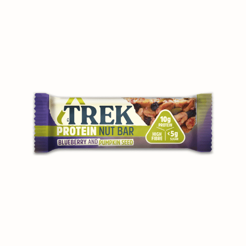 TREK - Protein Nut Bar Blueberry & Pumpkin Seed - Everyday Vegan Grocer