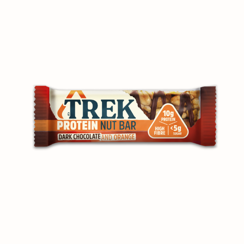 TREK - Protein Nut Bar Dark Chocolate & Orange - Everyday Vegan Grocer
