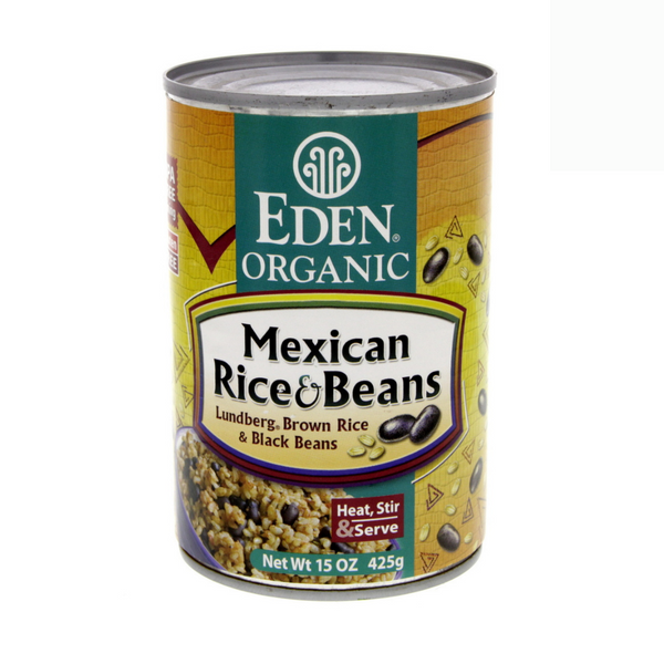 Eden Organic - Mexican Rice & Beans 425g - Everyday Vegan Grocer