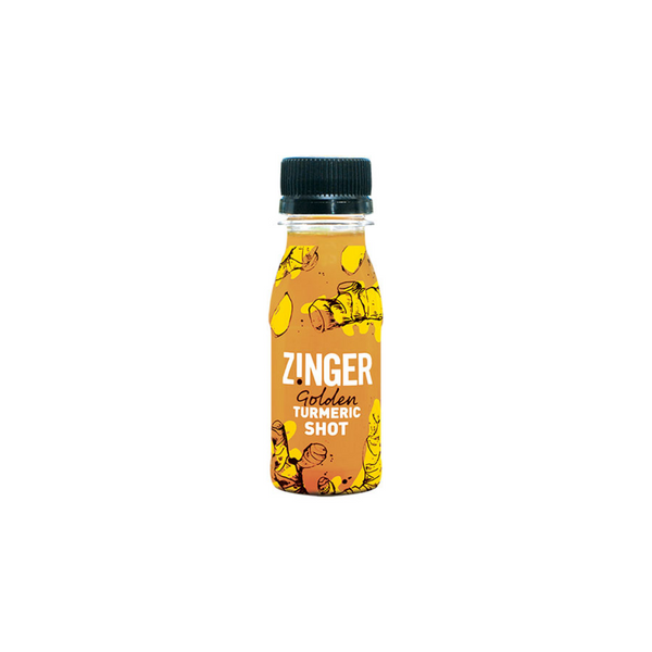 James White - Zinger Turmeric Spice Shot, 70ml - Everyday Vegan Grocer