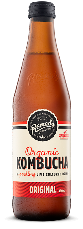 Remedy - Organic Kombucha Original 330ml - Everyday Vegan Grocer