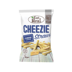Eat Real - Cheezie Straws 113g