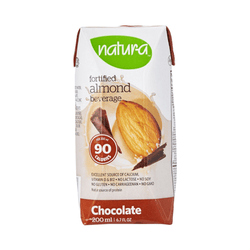 Natur-a Enriched Almond Beverage - Chocolate, 200 ml