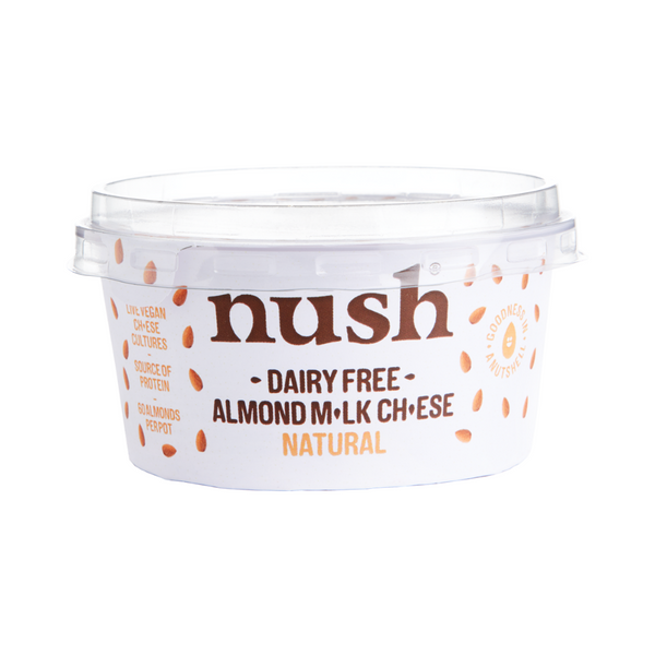 Nush - Dairy Free Natural Almond Milk Cheese - Everyday Vegan Grocer