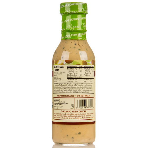 Follow Your Heart Miso Ginger Dressing 350ml - Everyday Vegan Grocer
