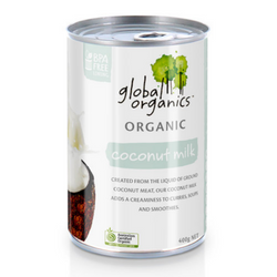 Global Organics - Organic Coconut Milk 400g
