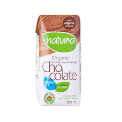 Natur-a Enriched Soy Beverage - Chocolate (Organic), 200 ml