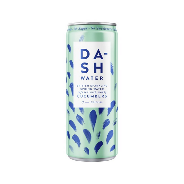 Dash - Sparkling Water Cucumber (Zero Calorie) - Everyday Vegan Grocer