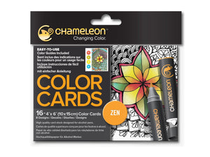 Chameleon Color Cards - Zen Doodles
