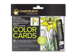 Chameleon Color Cards - Flowers