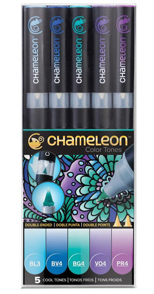 Chameleon 5 Pen Cool Tones Set