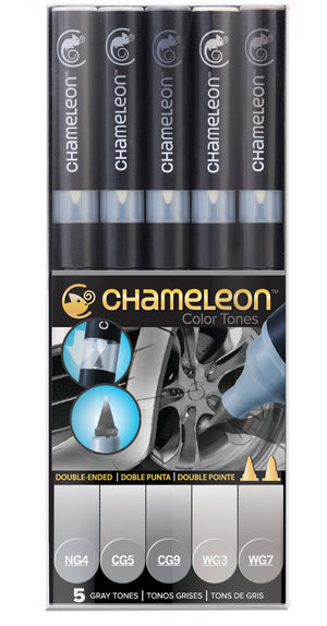 Chameleon 5 Pen Gray Tones Set