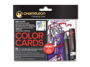 Chameleon Color Cards - Manga