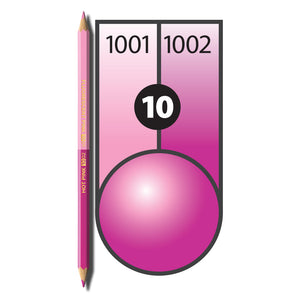 Chameleon Pencil Fluorescent Pink & Hot Pink