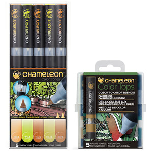 Chameleon Pens and Tops Bundle - Earth & Nature