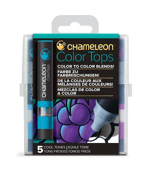 Chameleon 5 Color Tops Cool Set