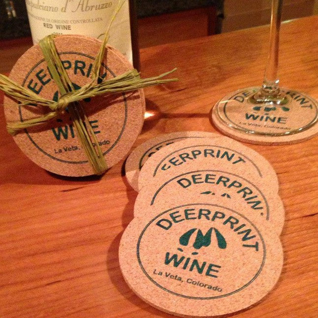 Deerprint Wine & Bistro Coaster