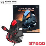 Casque Audio Gaming KOTION EACH GT7500-lookteck-G7500 Rouge-Europe-lookteck