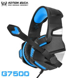 Casque Audio Gaming KOTION EACH GT7500-lookteck-G7500 Bleu-Europe-lookteck