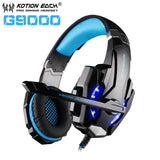 Casque Audio Gaming KOTION EACH GT7500-lookteck-G9000 Bleu-Europe-lookteck