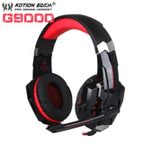 Casque Audio Gaming KOTION EACH GT7500-lookteck-G9000 Rouge-Europe-lookteck