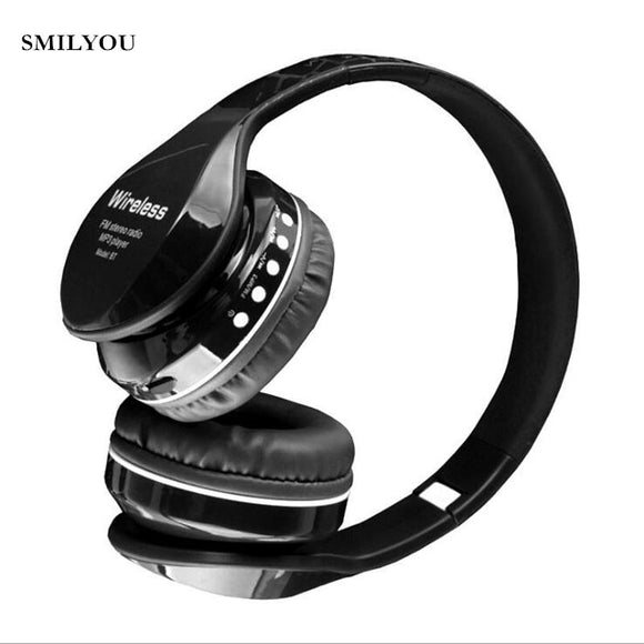 Casque Audio SD SMILYOU | Sans Fil-lookteck-Rouge-lookteck
