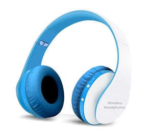 Casque Audio Tourya B2-lookteck-Blanc et Bleu-Europe-lookteck