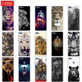 promos coques-promotion coques-coque iphone promos-coque samsung promos-Coque Pour Huawei Couverture Arrière Full 360 Loup Tigre Lion Léopard Ours-lookteck