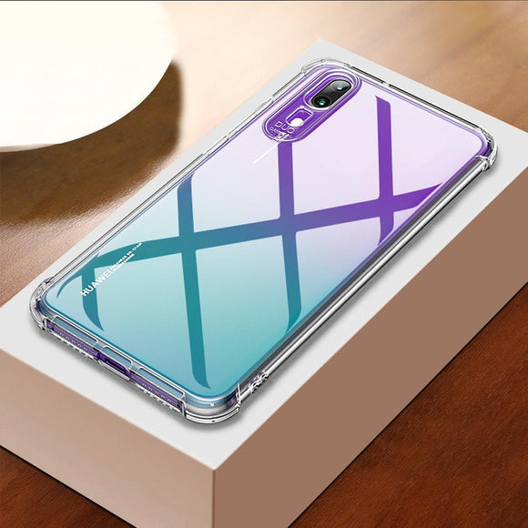 promos coques-promotion coques-coque iphone promos-coque samsung promos-Coque Pour Huawei Mate 20 Pro Case Cover Silicone Transparent-lookteck
