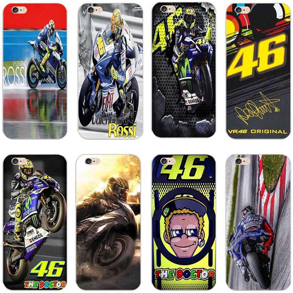 promos coques-promotion coques-coque iphone promos-coque samsung promos-Coque Pour iPhone X 7 8 Plus 6 6s 5 Valentino Rossi-lookteck