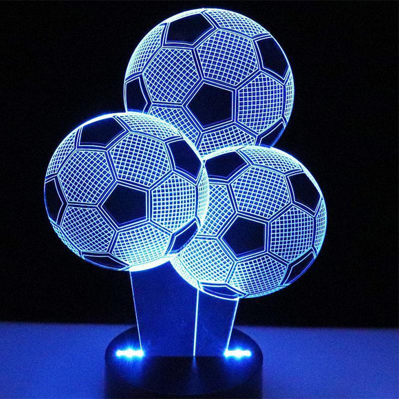 Lampe 3D | Édition 3 Ballons-lookteck-lookteck