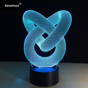 Lampe 3D | Édition Abstract Circle-lookteck-lookteck