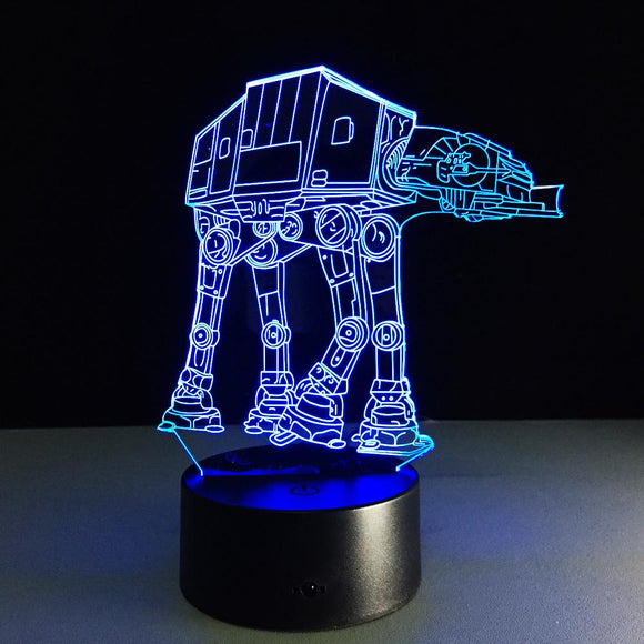 Lampe 3D | Édition AT-M6-lookteck-lookteck