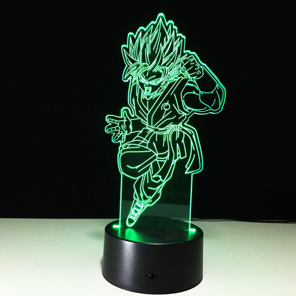 Lampe 3D | Édition Dragon ball Z Son Goku-lookteck-lookteck