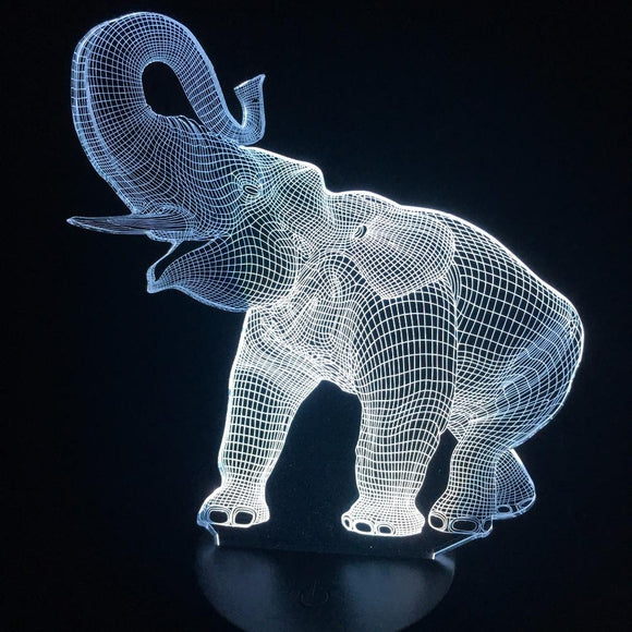 Lampe 3D | Édition Elephant-lookteck-lookteck