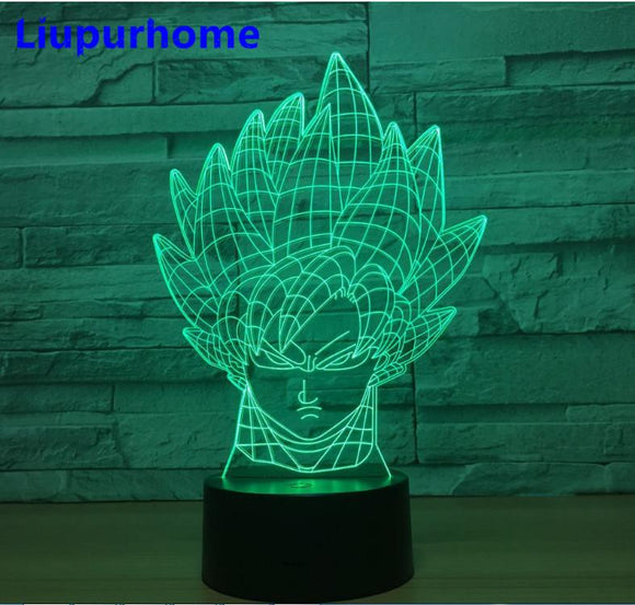 Lampe 3D | Édition Goku-lookteck-lookteck