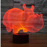 Lampe 3D | Édition Hippopotame-lookteck-lookteck