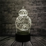 Lampe 3D | Édition Star Wars BB-8-lookteck-lookteck