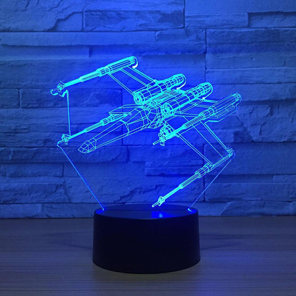 Lampe 3D | Édition X-Wing-lookteck-lookteck